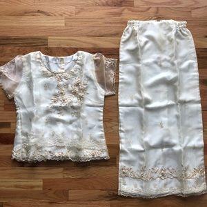 Dresses & Skirts - Traditional Filipino Wedding Dress